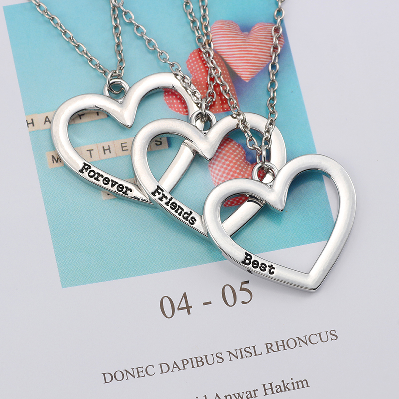 HTB1clvMXffsK1RjSszbq6AqBXXaE - Best Friend Necklace Women Crystal Heart Tai Chi Crown Best Friends Forever Necklaces Pendants Friendship BFF Jewelry Collier
