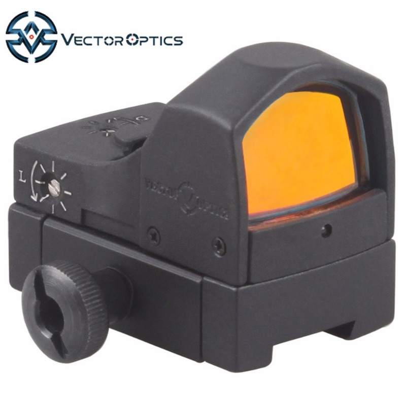 Vector Optics Sphinx 1x22 Dovetail Mini Reflex Red Dot Sight Scope with 11mm Mount Base fit Air Gun Rifles