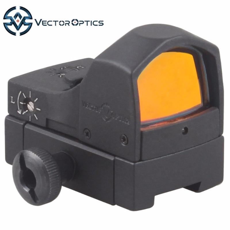 Vector Optics Sphinx 1x22 Queue D'aronde Mini Reflex Red Dot Sight Portée avec 11mm Mount Base fit Air pistolet Fusils