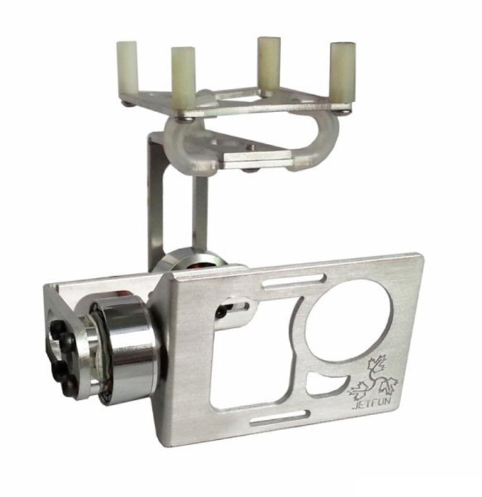 ФОТО F04661 CNC Aluminum Brushless Gimbal Camera Mount PTZ No Motor for Gopro 2 3 FPV Aerial Photography Multicopter