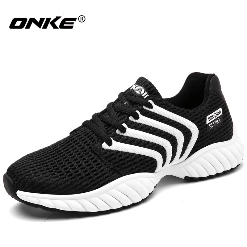2017 Brand Men Women Running Shoes Light Mesh Sport Shoes for Man High Quality Women Sne ...