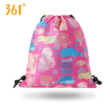 361 Dry Wet Separation Swimming Bag Waterproof Large Capacity Children's Combo Dry Wet Backpack Sports Fitness Storage Bag tuban professional sports dry wet separation bag