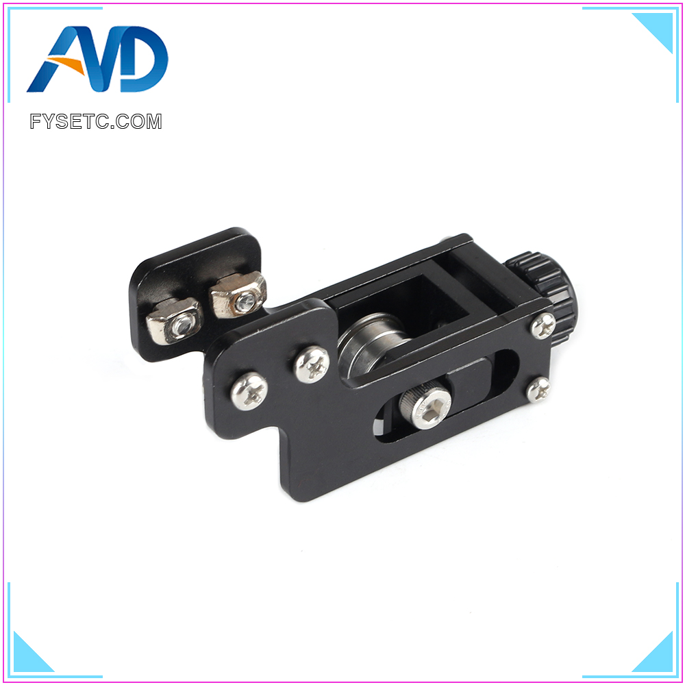 2040 V-Slot Aluminum Profile Y-axis Synchronous Belt Stretch Straighten Tensioner Silver For Creality Ender-3 3D Printer Parts