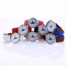 Fashion Leather Analog Quartz Wrist Watch
