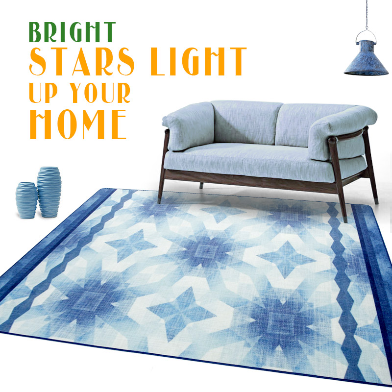 200X300CM Star Carpets For Living Room Modern Style Bedroom Rugs And  Carpets For Coffee Table Area Rug Children Play Mat