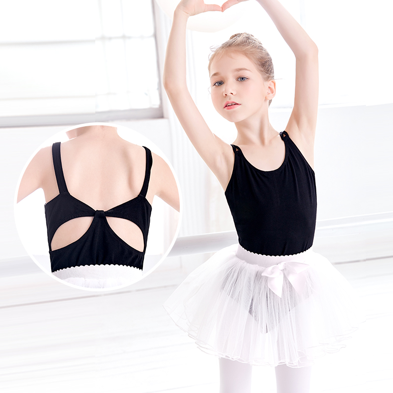 f763e460d2e5 Aliexpress.com   Buy Double Straps Leotards   Tutus Girls Child ...