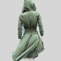 Hooded Dress Casual Wear Irregular T Women S Clothing Dresses Autumn Winter Fashion Irregular Hooded Sweater