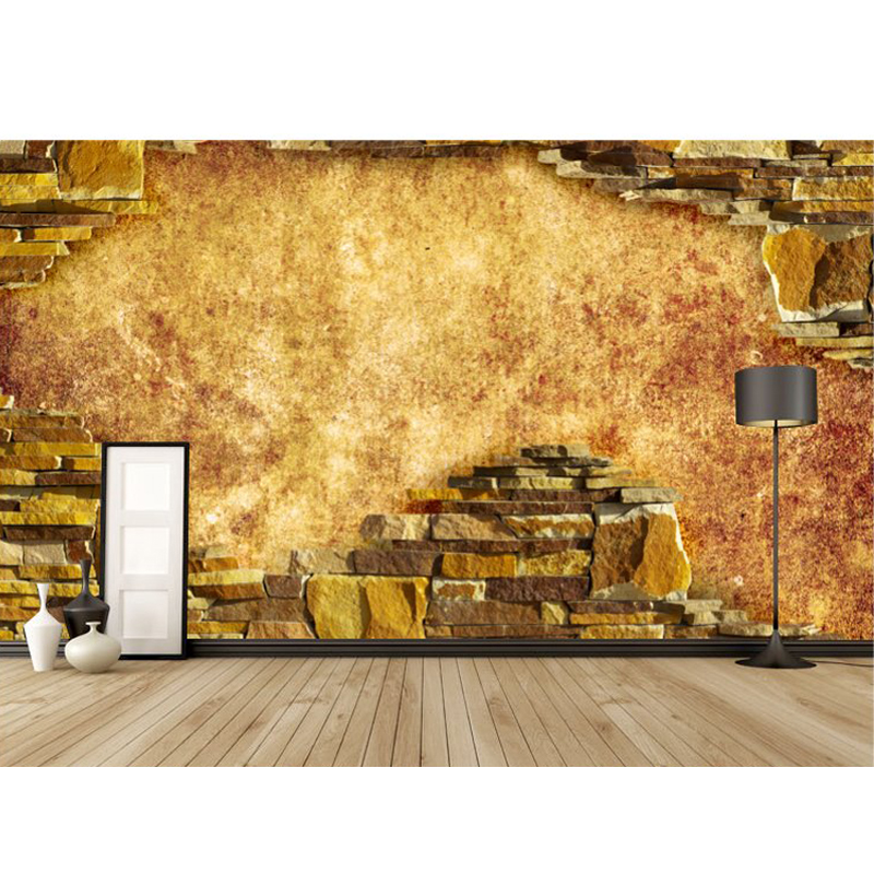 Подробнее о ktv wine bar brick wallpaper vintage brick wall mural ktv