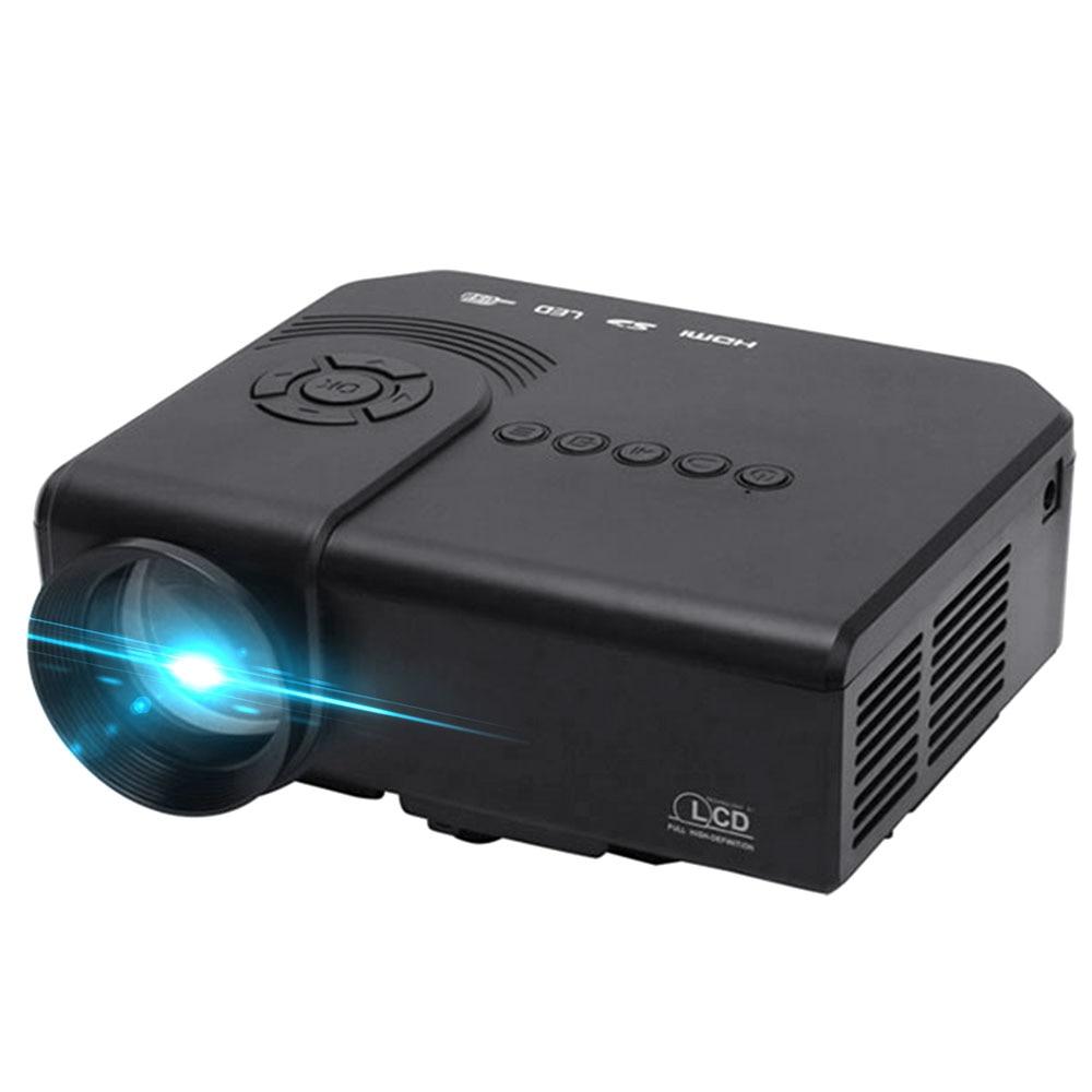 Projecteur multimédia intelligent M3 1200 Lumens prise en charge 1080 P rouge bleu 3D AV/VGA/HDMI/USB/SD Home Cinema multilingue