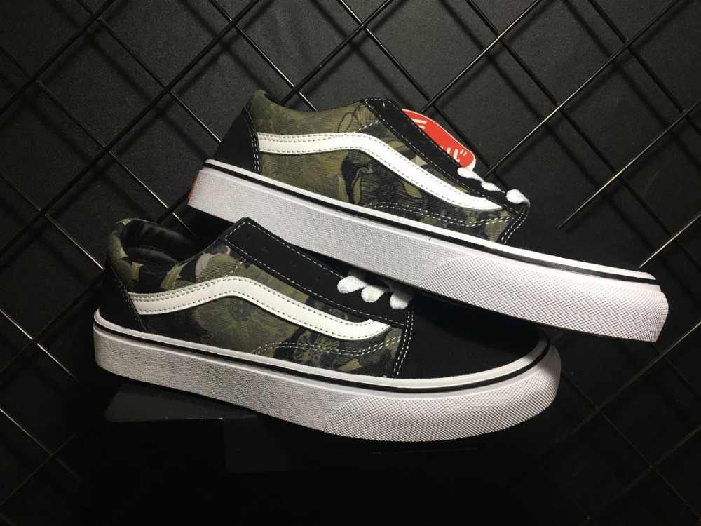 6176e0fbe4dfee Vans Old Skool FORTY DEUCE Skateboarding Shoes Unisex Black Sneakers Shoes  Weight lifting shoes Eur 36