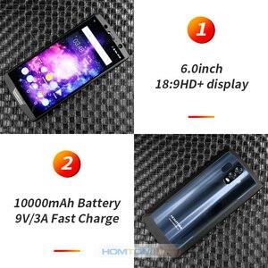 "Image 3 - HOMTOM HT70 10000mAh Batterie 6,0 ""HD 18:9 Bildschirm Smartphone MTK6750T Octa Core 4G RAM 64G ROM 16MP + 5MP Dual Cam 4G handy"