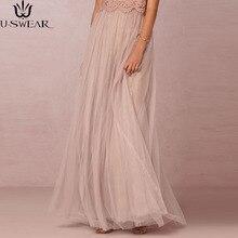 Long Tulle Skirt Casual Floor Length Womens Maxi Pink Bridesmaids Women Wedding Vestido