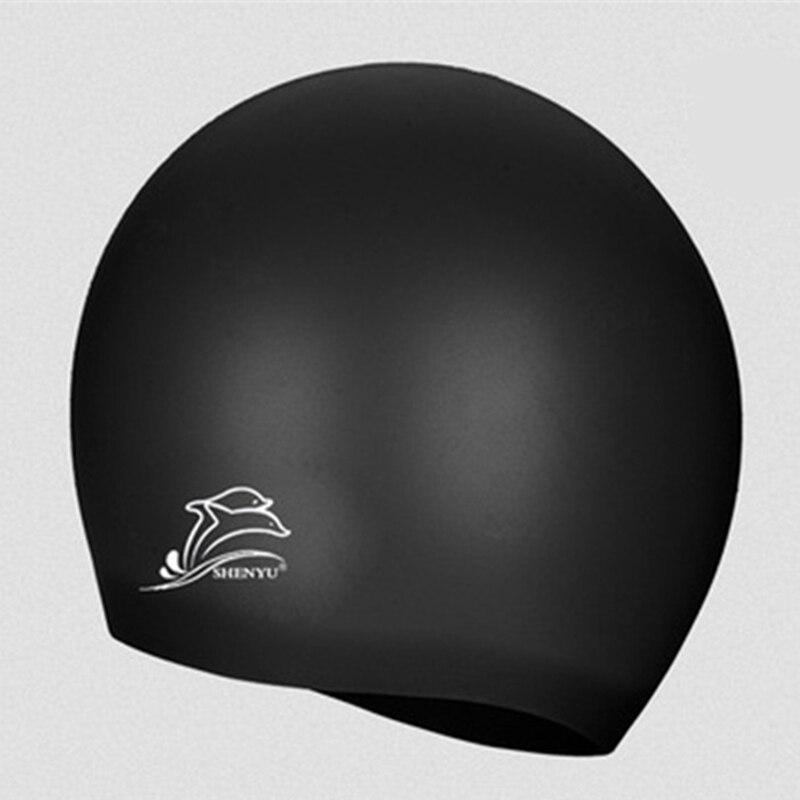 Profesional Flexible Impermeable de silicona Gorro de natación - Ropa deportiva y accesorios - foto 2
