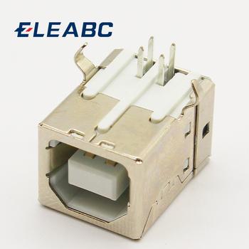 10 sztuk partia złącze żeńskie USB typu B G45 do interfejsu danych drukarki tanie i dobre opinie ELEABC CN (pochodzenie)