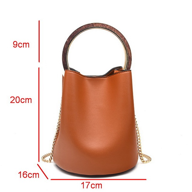 FUNMARDI Fashion Metal Top-handle Bag Vintage Luxury Composite Bags Simple Design Shoulder Bag Cross Body Bag For Women WLAM0035