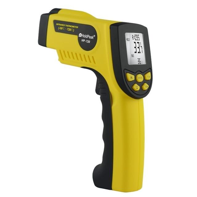 HoldPeak HP-720 Inframerah Termometer Laser Non Concact Temperature Measurement holdpeak hp 760g 1000volt
