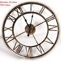20 polegadas 3D Grande Relógio de Parede de Ferro Relógio de Parede Reloj Saat assistir Relógios Digitais Duvar Saati Relógio de Parede Murale Horloge Klok