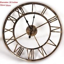 20inches 3D Large Wall Clock Saat Iron Wall Clock Reloj Watch Digital Clocks Duvar Saati Horloge Murale Relogio de Parede Klok