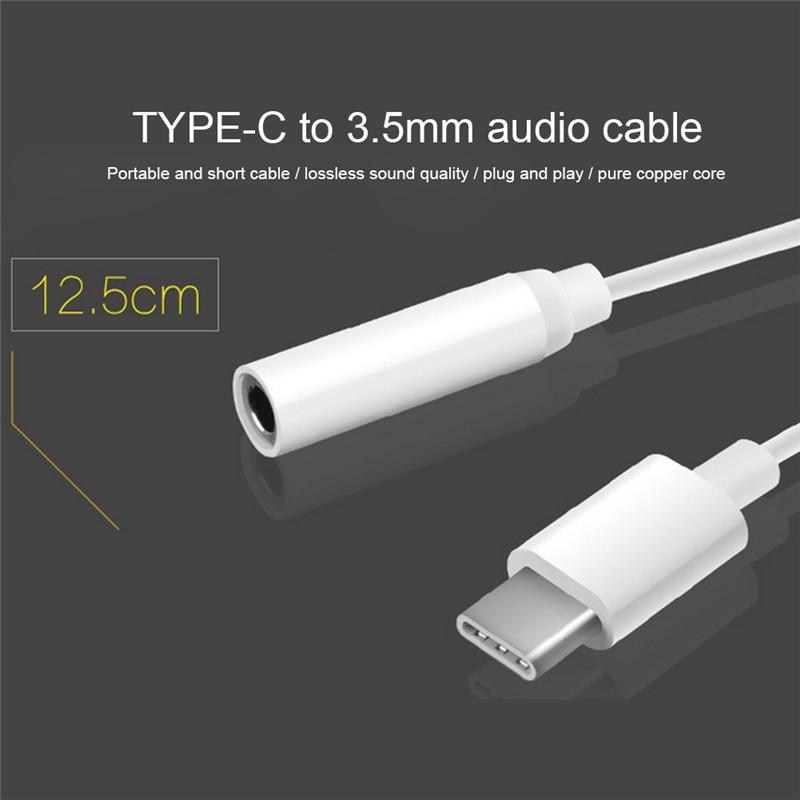 3,5 mm audio kabelski adapter za slušalice tipa C za pretvorbu kabel za slušalice za Letv LeEco 2 Pro MAX2 1pcs
