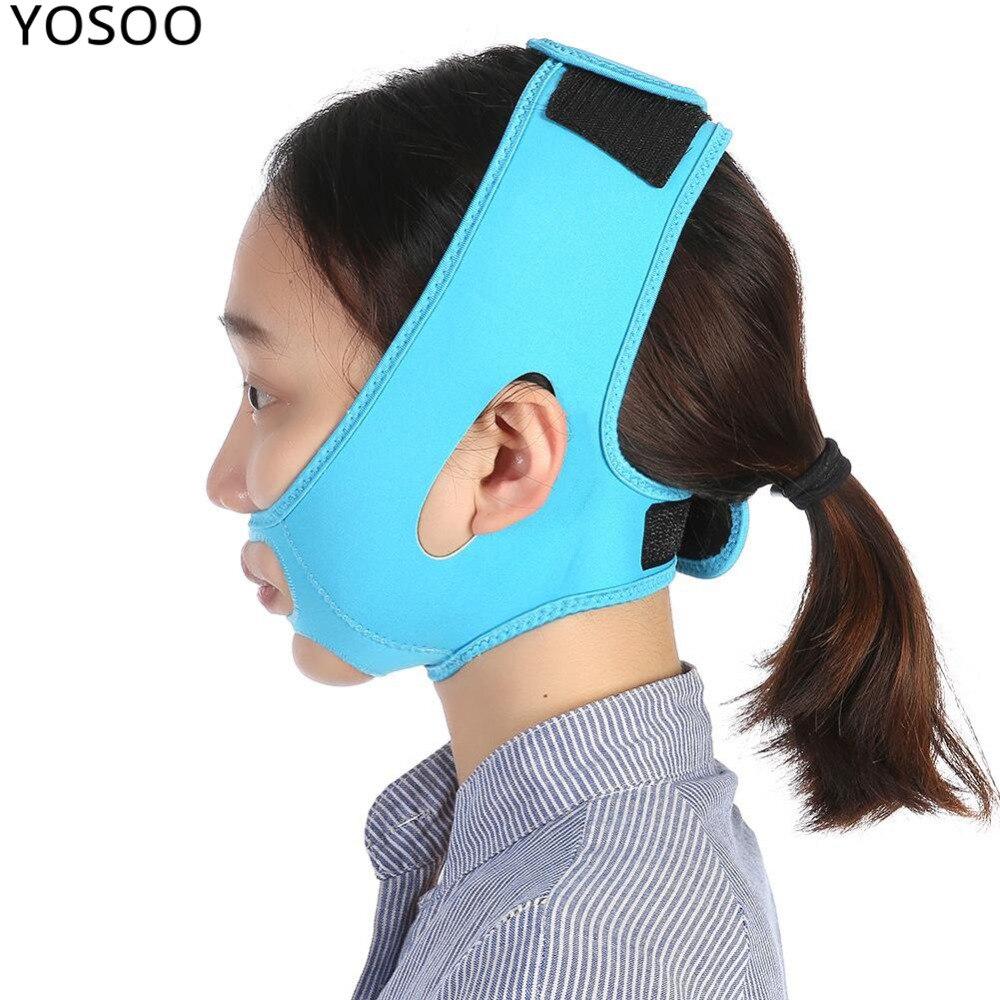 Face Slimming Bandage Belt Mask Face-Lift Masseter Muscle Strap Shape Lift Reduce Double Chin Face Mask Face Thining Band Braces
