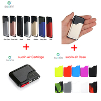 Original Suorin Air Starter Kit All in one Kit with 400mAh Battery & 2ml Cartridge 1.2ohm Resistance 16W Power Suorin Air E cigs