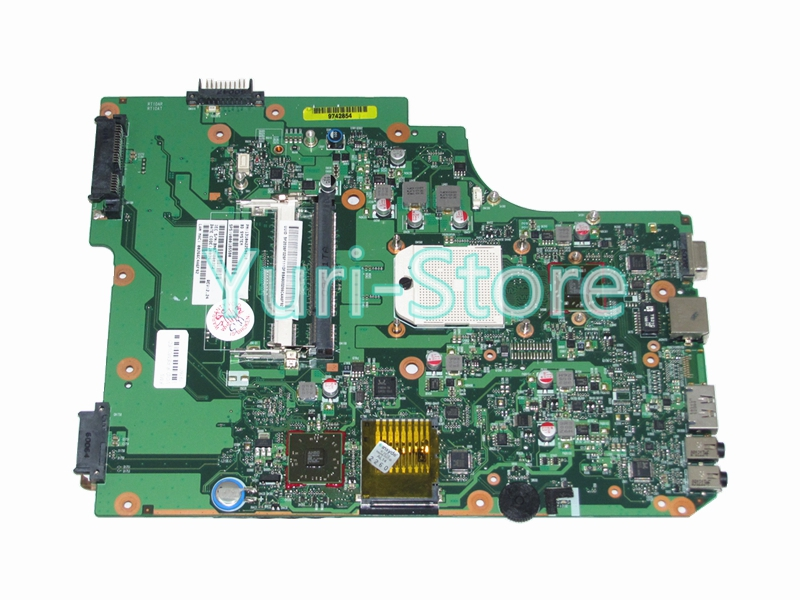 NOKOTION Laptop for Toshiba SATELLITE L505 L505D PN 1310A2250810 SPS V000185580 HD 4200 DDR2 Mainboard full tested nokotion for toshiba satellite c850d c855d laptop motherboard hd 7520g ddr3 mainboard 1310a2492002 sps v000275280