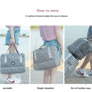 Image 3 - Sac de rangement imperméable, sac de natation sec et humide, sac à chaussures de plage, sac de rangement de voyage vêtements de toilette organisateur de Fitness