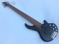 Lager 6 string fretless bass gitarre