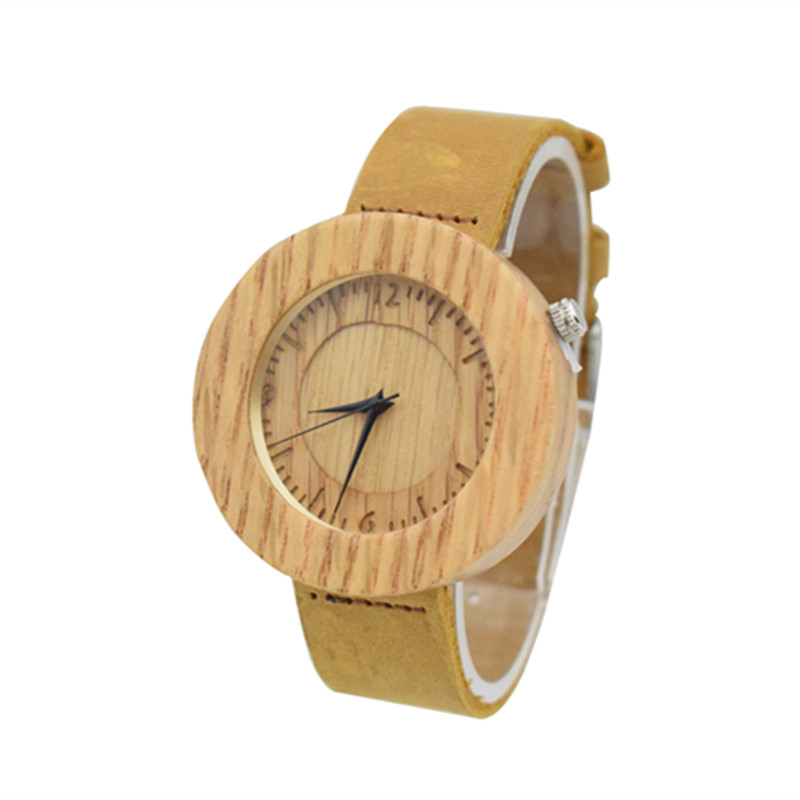 Factory Wooden Watch For Men With Japan 2035 Movement Fashion Gifts For Women Brithday