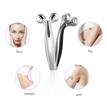 Facial Roller with 70 degree V-shaped Lifting Device For Facial Toning and Lifting Body Slimming Skin 1682 4