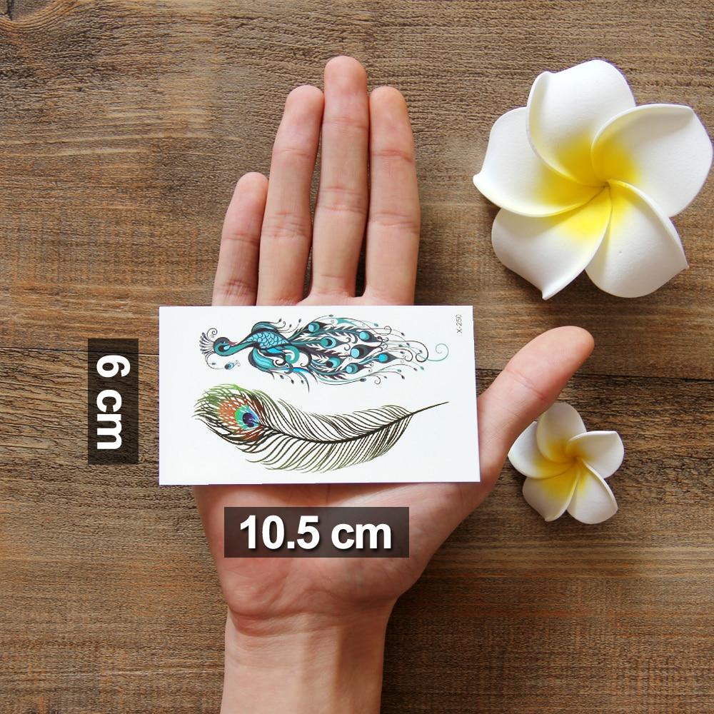 1шт водонипроецаемый наклейка татуировки купить на алиэкспресс