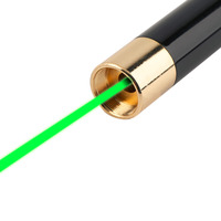 USB Rechargeable Green Red Light Laser Pointer Pen 5mW High Power BeamBest Price