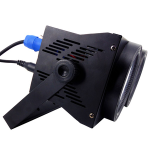 Image 3 - 2eyes 2x100W Led Blinder 200W COB Par RGBW+UV 6IN1 DMX Stage Lighting Effect Audience Lighting DJ Equipment Disco