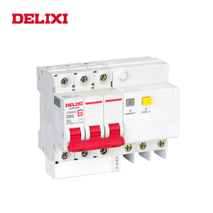 Image 4 - DELIXI CDB6iLE 4P 400V 10A 16A 32A 63A Residual current Mini Circuit breaker Overload Short Leakage protection C type curve RCBO