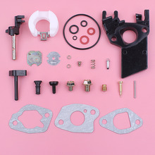 Carburetor Insulator Spacer Gasket Repair Rebuild Kit For Honda GX160 GX200 5.5HP 6.5HP GX 160 200 Lawn Mower Engine Spare Part carburetor carb gasket repair rebuild kit for honda gx390 13hp gx 390 lawn mower engine motor part fuel line choke rod