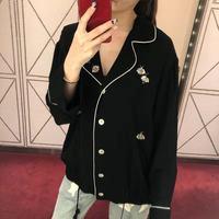 WLD1152BA новые модные женские блузки и рубашки для мальчиков 2018 взлетно посадочной полосы дизайнерский бренд класса люкс Европа зима стиль