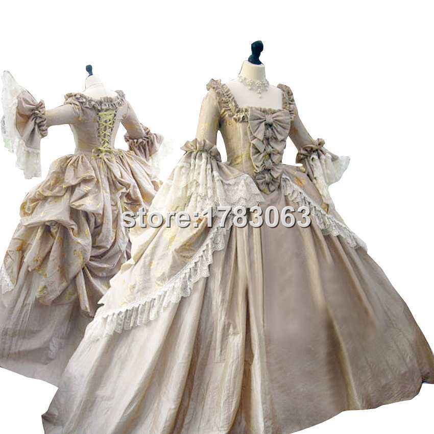 the ultimate rococo marie antoinette dress colonial With robe coloniale