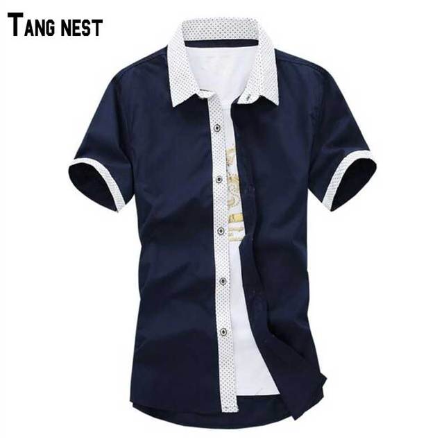 Men Shirts 2017 New Arrival Summer Casual Men Short Shirt Korean Style Fashion Solid Single Breasted Comfortable Shirt MCS302