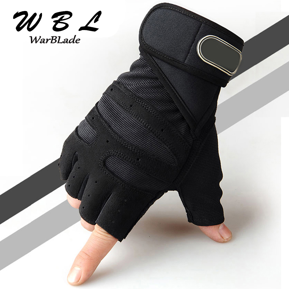 Men Women Half Finger Fitness Gloves Weight Lifting Gloves Protect Wrist Gym Training Fingerless Weightlifting Sport Gloves