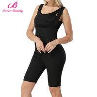 Lover Beauty Women Full Body Shaper Sporting Sweat Neoprene Enhancing Bodysuit Sauna Tank Top Vest Firm