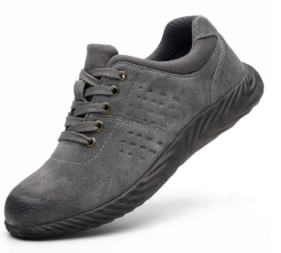 ワークブーツ建設男性の屋外スチールつま先キャップの靴男性迷彩パンク証拠 y 安全靴プラスサイズ