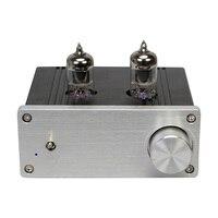 완성 된 dp4 클래스 d hifi 튜브 앰프 tpa3116 6j1 오디오 전력 증폭기 new