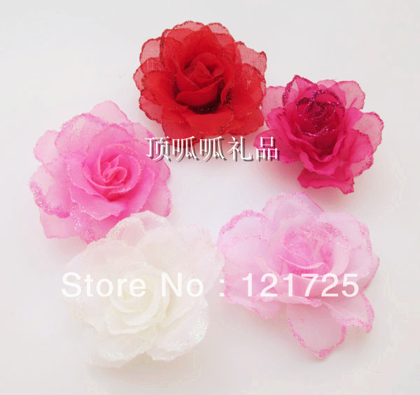 Free shipping artificial flowers silk flower diy wedding decoration free shipping artificial flowers silk flower diy wedding decoration rose corsage hair accessory rose yarn flower 5cm in artificial dried flowers from home mightylinksfo