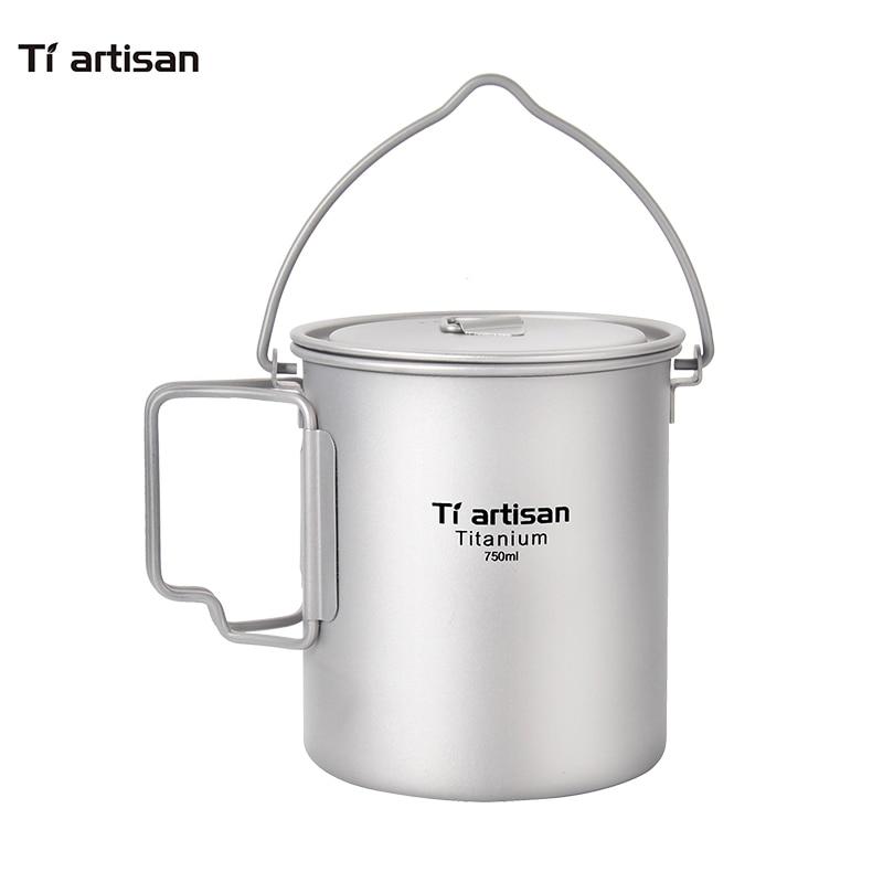 التيتانيوم في الهواء الطلق للطي مقبض - التخييم والتنزه