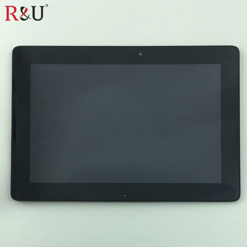 Used Parts LCD Display Glass Panel Touch Screen Digitizer Assembly frame For Asus Transformer Pad TF300 TF300TL 69.10I21.G03 3G used parts lcd panel touch screen digitizer glass assembly with frame replacement parts for asus transformer book t300 t300la
