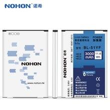 HOT SALE Original NOHON Battery BL-51YF For LG G4 H818 H819 H810 Bateria Lithium Polymer Battery Batarya 3000mAh Retail Package