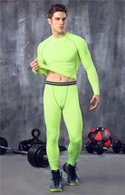 Running Sets Comfortable Men's Sleep Running Long Johns Sports Fitness Winter Warm Underwear Fitness Sports Suit