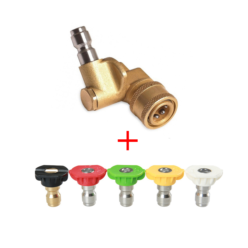 Washer Spray Nozzle Tips Multiple G1//4 Design High Pressure Hose NEW