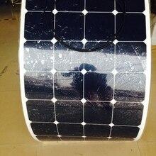 Sunpower гибкие солнечные панели 12v 100 w; monocrystalline semi Гибкая солнечная панель 100 Вт; солнечных батарей 21% эффективность зарядки