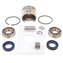 Motor Piston Crankshaft Oil Seal Bearing Air Filter Kit For Stihl Ms180 Ms 180 018 Chainsaw Spare Parts 38Mm все цены